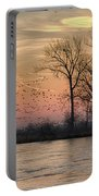 Sunrise On The Platte Portable Battery Charger