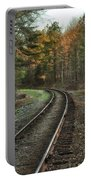 Sunrise On The Rails Portable Battery Charger