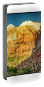 Sunrise On The Rocks Portable Battery Charger
