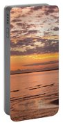 Sunrise On The Shore  Portable Battery Charger