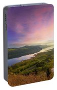 Sunrise Over Columbia River Gorge Portable Battery Charger