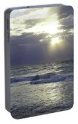 Sunrise Over Gulf Of Mexico Portable Battery Charger