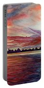 Sunrise Over Indian Lake Portable Battery Charger