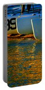 Sunrise / Sunset / Sailboats Portable Battery Charger