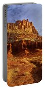 Sunrise The Castle Capitol Reef National Park Utah Portable Battery Charger