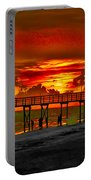Sunset 4th Of July Portable Battery Charger