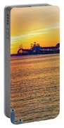 Sunset Across The Chesapeake Portable Battery Charger