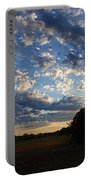 Sunset After The Storm Portable Battery Charger