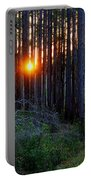 Sunset Along The Florida Trail - St.marks Portable Battery Charger