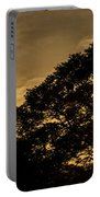 Sunset And Trees - San Salvador Portable Battery Charger