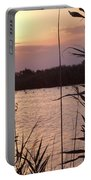 Sunset And Water Portable Battery Charger