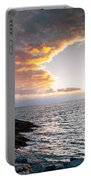 Sunset At Castle Hill Portable Battery Charger