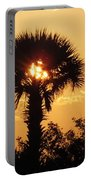 Sunset At Clearwater Beach Portable Battery Charger