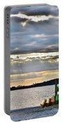 Sunset At Coastal Kayak Portable Battery Charger