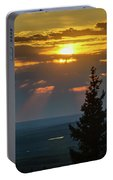 Sunset At Cypress #3 Portable Battery Charger