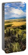 Sunset At Jackson Hole Portable Battery Charger