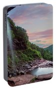Sunset At Kaaterskill Portable Battery Charger