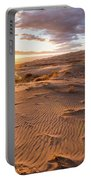 Sunset At Kelso Dunes Portable Battery Charger