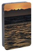 Sunset At Kenai Beach Portable Battery Charger