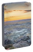 Sunset At Painted Desert Portable Battery Charger