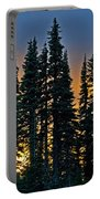 Sunset At Paradise Portable Battery Charger
