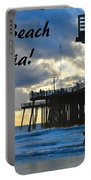 Sunset At Pismo Beach California Portable Battery Charger