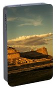 Sunset At Scotts Bluff National Monument Portable Battery Charger
