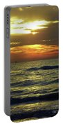 Sunset At The Gulf Portable Battery Charger