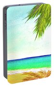 Sunset Beach #373 Portable Battery Charger
