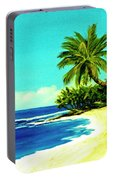 Sunset Beach Art North Shore Of Oahu In Summer #100 Portable Battery Charger