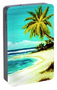 Sunset Beach Hawaiian #113 Portable Battery Charger
