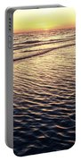 Sunset Beach In Florida Paradise Portable Battery Charger