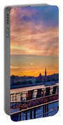 Sunset Budapest Portable Battery Charger