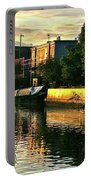Sunset Canal Reflections Portable Battery Charger