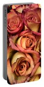 Sunset Colored Roses Portable Battery Charger