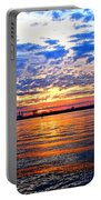 Sunset Colors Portable Battery Charger