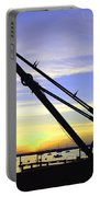 Sunset Crane Portable Battery Charger