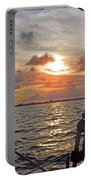 Sunset Cruise Portable Battery Charger