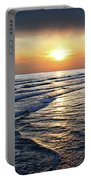 Sunset From Newport Beach Pier Portable Battery Charger