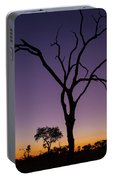 Sunset In Africa Portable Battery Charger