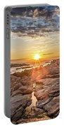 Sunset In Prospect, Nova Scotia Portable Battery Charger