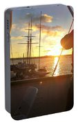 Sunset In San Diego Portable Battery Charger