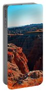 Sunset In The Badlands Portable Battery Charger
