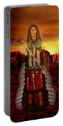 Sunset Indian Chief Portable Battery Charger