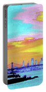 Sunset Lower Manhattan 2c5 Portable Battery Charger