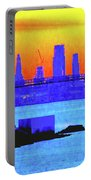Sunset Lower Manhattan 2c3 Portable Battery Charger
