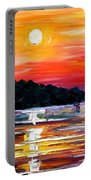 Sunset Melody Portable Battery Charger