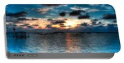 Sunset On Cedar Key Portable Battery Charger