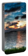 Sunset On Cedar Key Portable Battery Charger