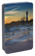 Sunset On Fire Island Portable Battery Charger